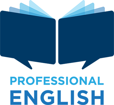 Professional English logo